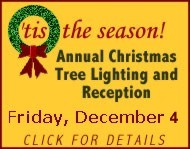 Annual Christmas Tree Lighting and Reception